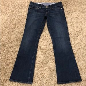 "Gap ""perfect boot"" jeans"
